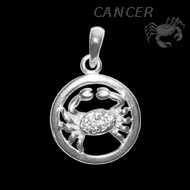 Cancer Locket  - Design II