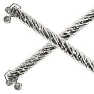 Silver Dandiya Sticks