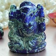 Lapis Lazuli Ganesha - 123 gms