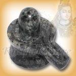 Black Cats Eye Shivlinga - 81 gms