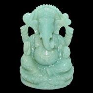 Amazonite Ganesha - 607 gms