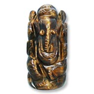Tiger Eye Ganesha - 57  gms