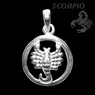 Scorpio Locket - Design II