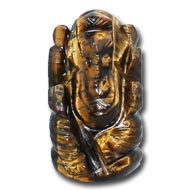 Tiger Eye Ganesha - 40   gms