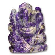 Lapis Lazuli Ganesha - 133  gms