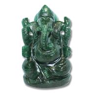 Green Jade Ganesha - 354 gms