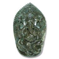 Iolite Ganesha - 1011 gms