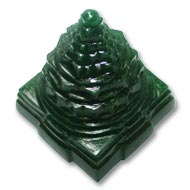 Green Jade Shree Yantra - 267 gms