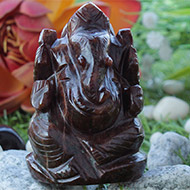 Gomed Ganesha - 217 gms