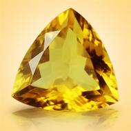 Yellow Citrine - 6.50 Carats - Trillon