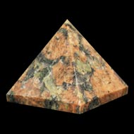 Pyramid in Natural Jasper