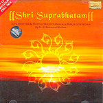 Shri Suprabhatam - set of 2 cd