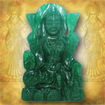 Laxmi in Green Jade - 80 gms