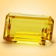 Yellow Citrine - 6.50 Carats - Emerald