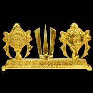 Tirupati Balaji Shanku Chakra Naama Set