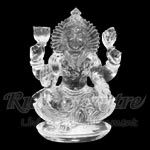 Mahalaxmi crystal statue - 274 gms