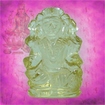 Mahalaxmi in Lemon Topaz - 32 carats