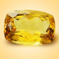 Yellow Citrine - 6.50 Carats - Cushion