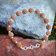 Mahalakshmi Bracelet Java in silver balls