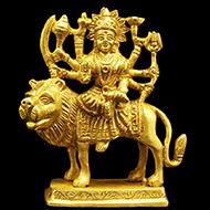Durga Maa on Lion II