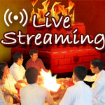 Live Streaming of Puja