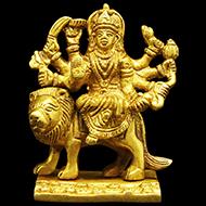 Durga Maa on Lion III