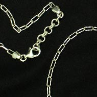Alluring Twisted Silver Chain