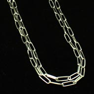 Sterling Silver Double Chain