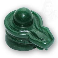 Green Jade Shivlinga - 214 gms