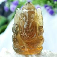 Ganesha in Fluorite - 94 gms