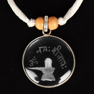 Crystal Om Namah Shivaya Locket