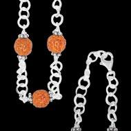 Silver chain jewellery - Design III