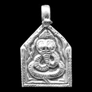 Snake Locket in Pure silver - I