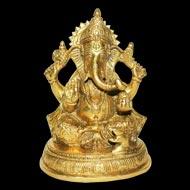 Ganesha in Brass - III