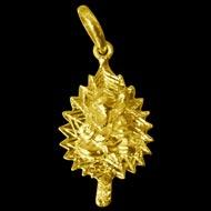 Ganesh Pendant in Gold - Design VI