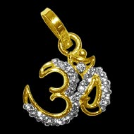 Om Locket in Pure Gold - Design II