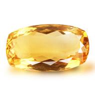 Yellow Citrine - 15 to 16 Carats - Cushion