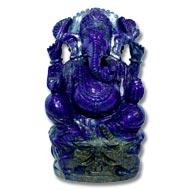 Lapis Lazuli Ganesha - 510 gms