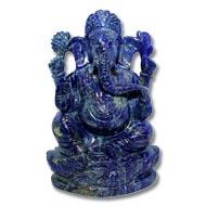 Lapis Lazuli  Ganesha - 336 gms