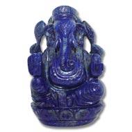Lapis  Lazuli  Ganesha - 364 gms