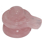 Shivlinga in Rose Quartz - 132 gm