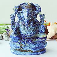 Lapis Lazuli Ganesha - 10