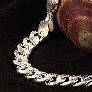 Silver Chain Bracelet - Design I