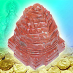 Shree Yantra in Jasper - 200 gms