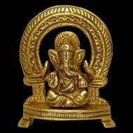 Ganesha in Brass - XI