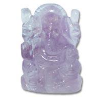 Ganesha in Amethyst - 129 gms