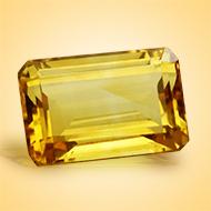 Yellow Citrine - 9 - 11 Carats - Emerald
