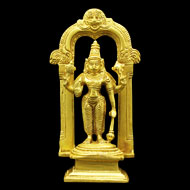 Vishnu Statue in Brass
