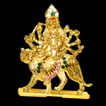 Ambe Mata in brass - design II