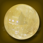 Yellow Agate Ball